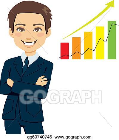 vector art successful businessman clipart drawing gg60740746 rh gograph com businessman clipart black and white standing businessman clipart