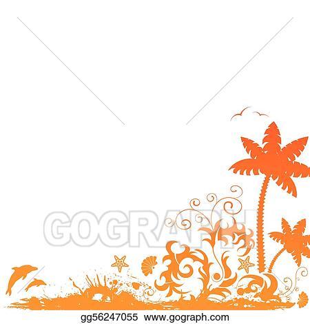vector stock summer border clipart illustration gg56247055 gograph rh gograph com summer holiday border clip art summer border clip art black and white