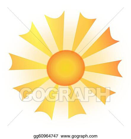 stock illustration sun and abstract sun rays clipart rh gograph com sun rays clip art images sunlight rays clipart