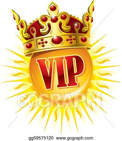 Clip Art Vector Sun In A Golden Crown Stock Eps Gg59575120 Gograph