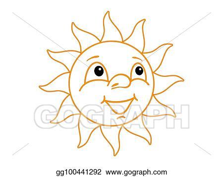 drawing sun clipart drawing gg100441292 gograph Star Clip Art sun
