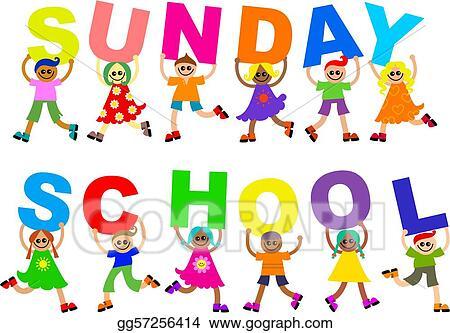 stock illustration sunday school clipart illustrations gg57256414 rh gograph com sunday school clip art pictures sunday school clip art pictures