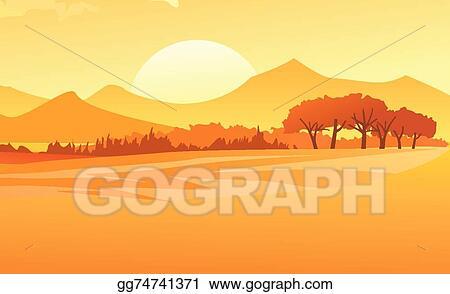 Sunset Background Clip Art at Clker.com - vector clip art online, royalty  free & public domain