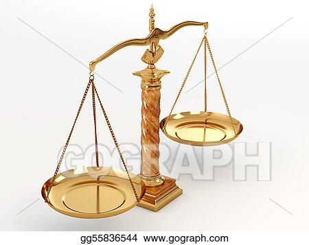 Stock Illustration Symbol Of Justice Scale Clipart Illustrations