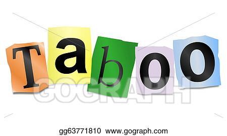 clip art taboo concept stock illustration gg63771810 gograph