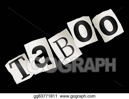 clip art taboo concept stock illustration gg63771811 gograph