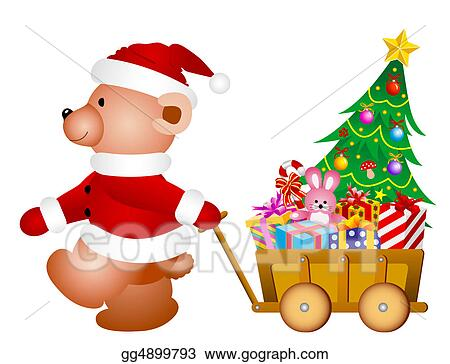 Clip Art - Teddy bear . Stock Illustration gg4899793 - GoGraph