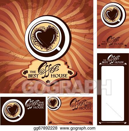 Vector stock template designs of menu and business cards for cofee template designs of menu and business cards for cofee house background for restaurant or cafe menu wajeb Choice Image