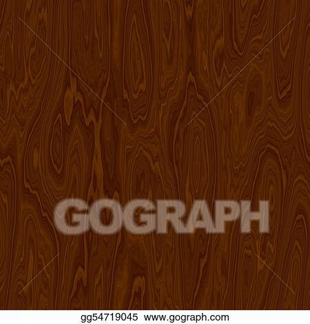 Illustration Commerciale Texture Bois Dessin Clip Art