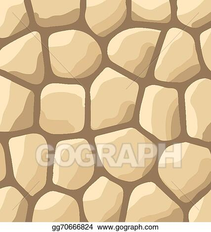 eps illustration texture of stones stone wall background vector rh gograph com Stone Wall Drawing stone wall drawing clipart