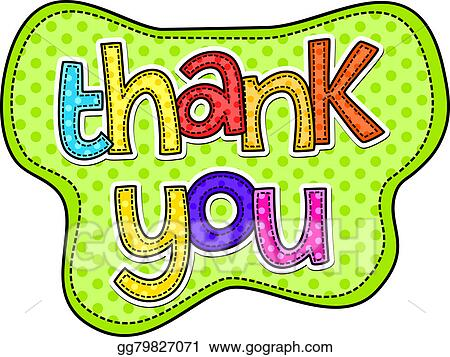 drawing thank you stitch text clipart drawing gg79827071 gograph