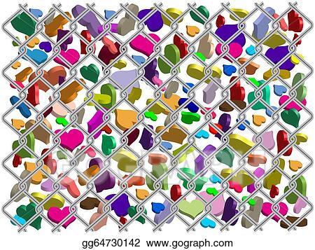 Clipart The Different Love Symbols Stock Illustration Gg64730142