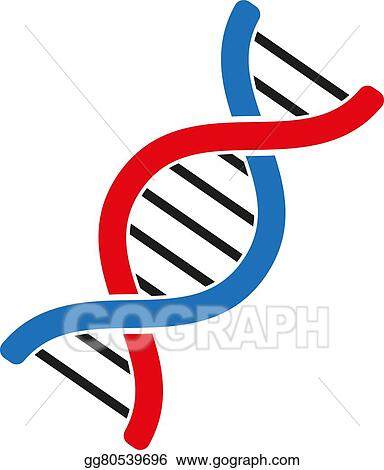 Genetics And Medicine Molecule Chromosome Biology Symbol Flat
