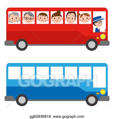 stock illustrations the illustration of a bus stock clipart rh gograph com Paint Brush Clip Art Little Red Schoolhouse Clip Art