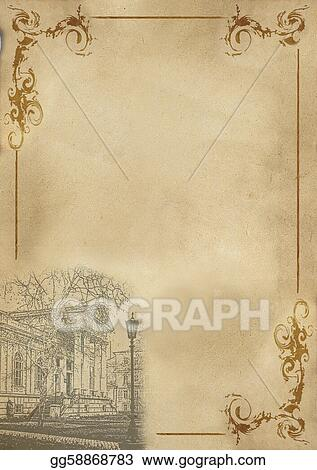 Stock Illustration - The menu for the cafe, a restaurant on