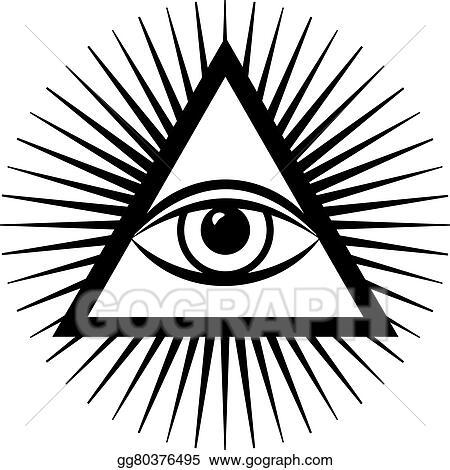 Vector Illustration Third Eye Eps Clipart Gg80376495 Gograph