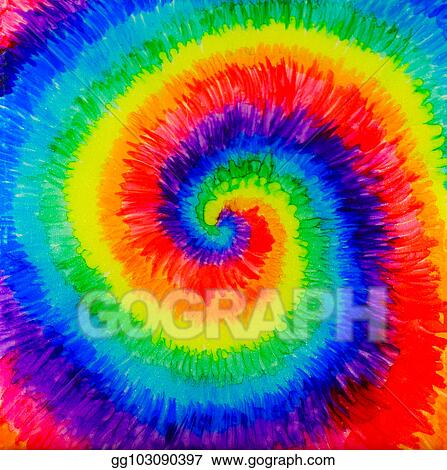 f4f9612f2c67 Stock Illustration - Tie-dye alcohol ink painting. Clipart Drawing ...