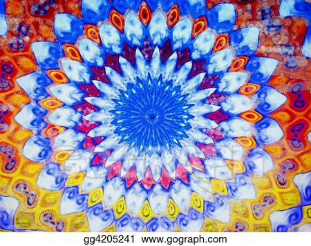 Clipart Tie Dye Stock Illustration Gg4205241 Gograph