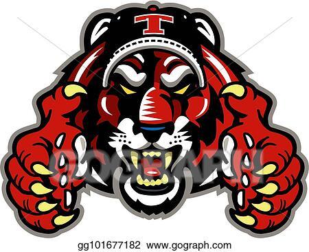 Tiger baseball Clipart | k33826270 | Fotosearch