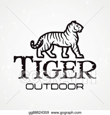 Vector Stock Tiger Logo Vector Mascot Design Template Shop Or