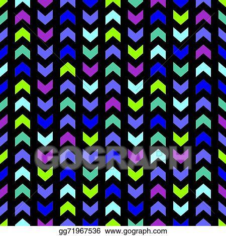 Blue Chevron Watercolor Pattern. Navy Background Stock Photo - Image of  modern, stripes: 109479876
