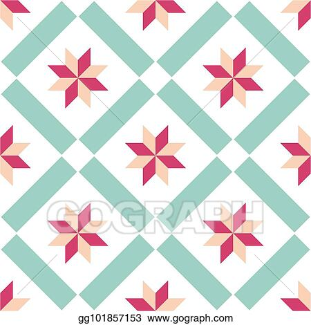 Vector Art Tile Decorative Floor Tiles Vector Pattern Eps Clipart