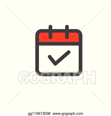 Vector Stock - Time management icon with deadline, hurry