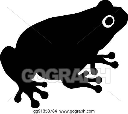 vector illustration toad silhouette stock clip art gg91353784 rh gograph com Traveling Toad Clip Art Happy Toad Clip Art