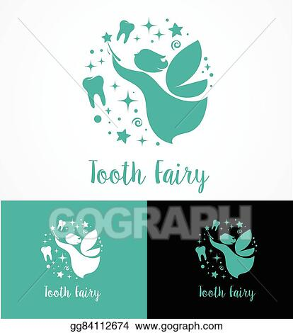 Vector Art Tooth Fairy With Magic Wand Make A Wish Icon And
