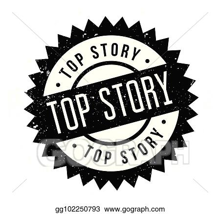 Top Story Rubber Stamp