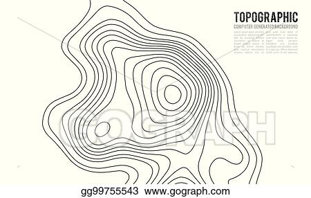 How Do You Find The Elevation On A Topographic Map.Vector Art Topographic Map Contour Background Topo Map With