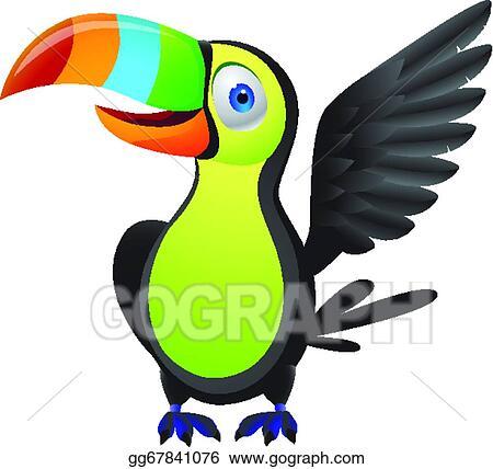 eps vector toucan bird stock clipart illustration gg67841076 rh gograph com toucan clip art black and white toucan clipart images