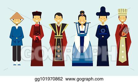 Asian clothing clip art pics 781