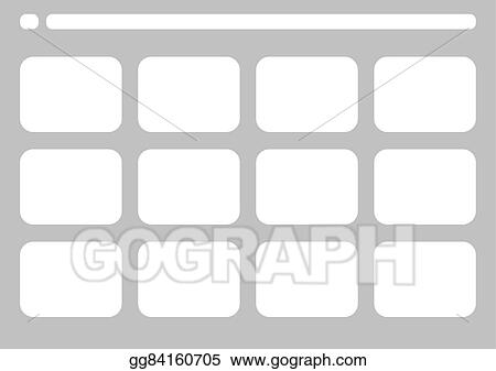 Eps Vector Traditional Television Simple Storyboard Template