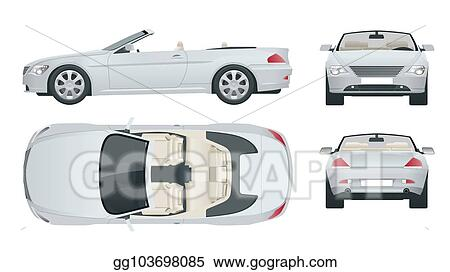 Vector Stock - Transfer, cabriolet car  cabrio coupe vehicle