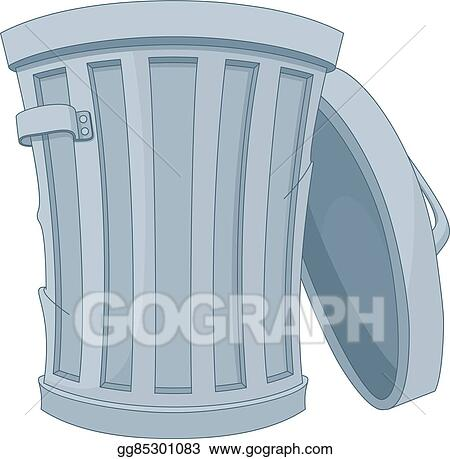 Eps Illustration Trash Can Vector Clipart Gg85301083 Gograph