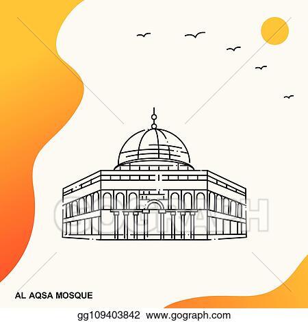 Travel Al Aqsa Mosque Poster Template