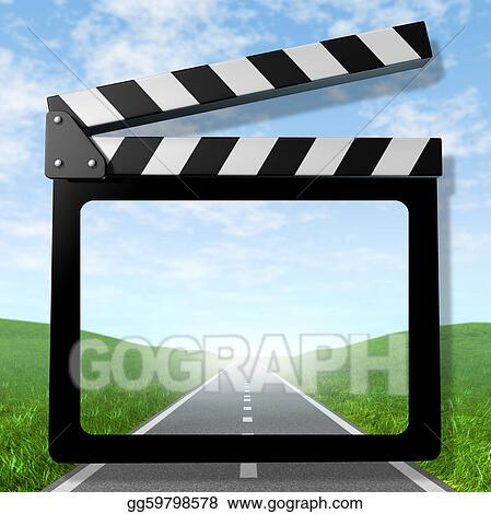 Stock Illustrations Travel Video Stock Clipart Gg59798578 Gograph