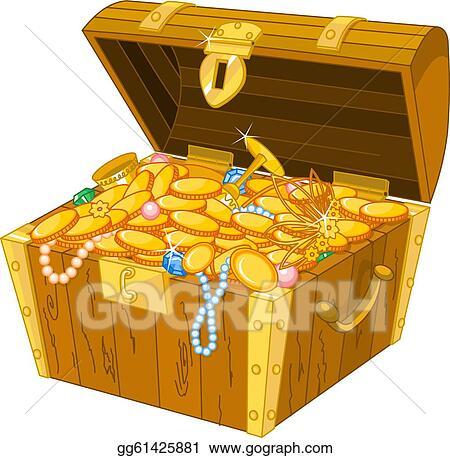 treasure chest clip art royalty free gograph rh gograph com Pirate Treasure Chest Clip Art Free free pirate treasure chest clipart