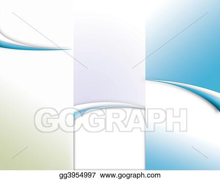 tri fold brochure sizes