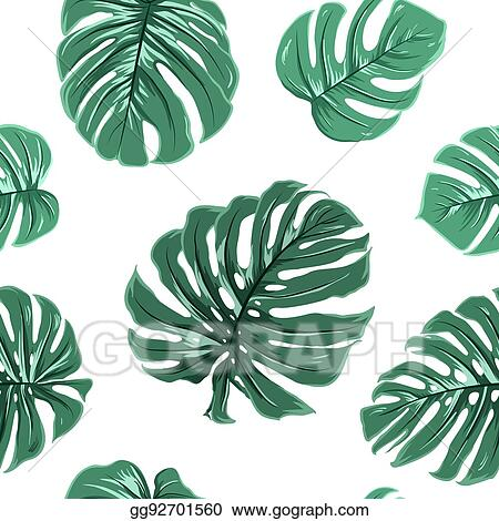 Vector Stock Tropical Exotic Monstera Leaves Seamless Pattern Stock Clip Art Gg92701560 Gograph Alibaba.com offers 845 exotic tropical plants products. https www gograph com clipart license summary gg92701560