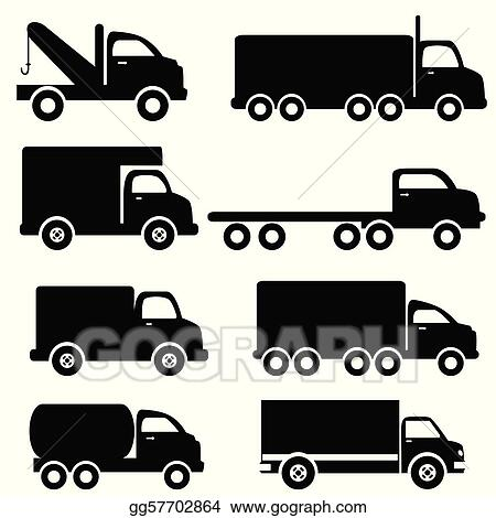 Black And White Truck Clip Art Royalty Free Gograph