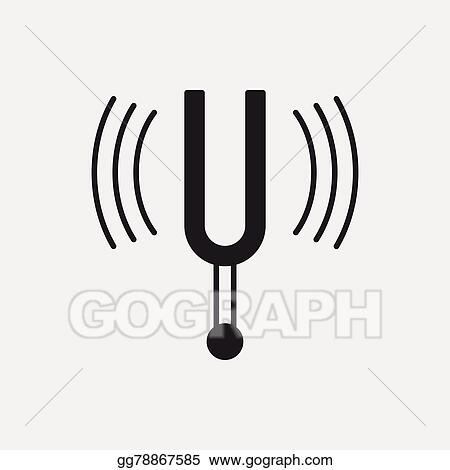 Tuning Fork Royalty Free Cliparts, Vectors, And Stock Illustration. Image  86683794.