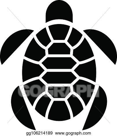 101e03885 Clip Art Vector - Turtle marine animal icon, simple style. Stock EPS ...