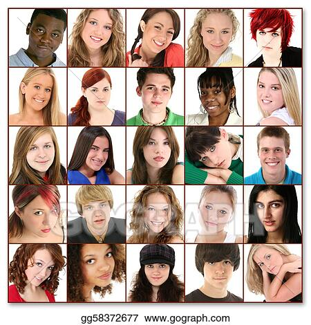 Teen faces pictures