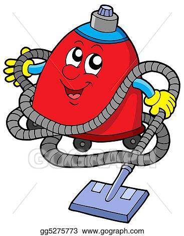 Stock Illustration Twisted Vacuum Cleaner Clipart Gg5275773 Gograph