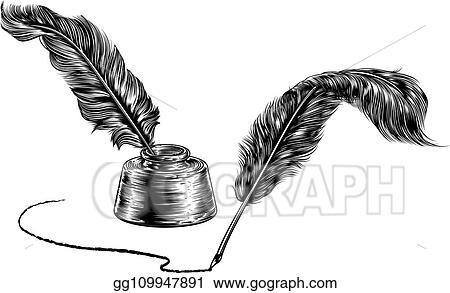Quill Stock Illustrations – 18,864 Quill Stock Illustrations, Vectors &  Clipart - Dreamstime