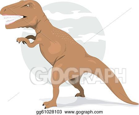 Clip Art T Rex Tyrannosaurus Raptor Dinosaur Clipart