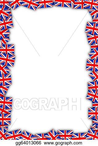 Stock Illustration - Uk flag frame. Stock Art Illustrations ...