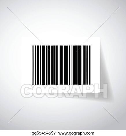 eps vector ups barcode sticker illustration design stock clipart